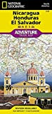 Nicaragua, Honduras, and El Salvador (National Geographic Adventure Map) by National Geographic Maps - Adventure (2011-04-27) -