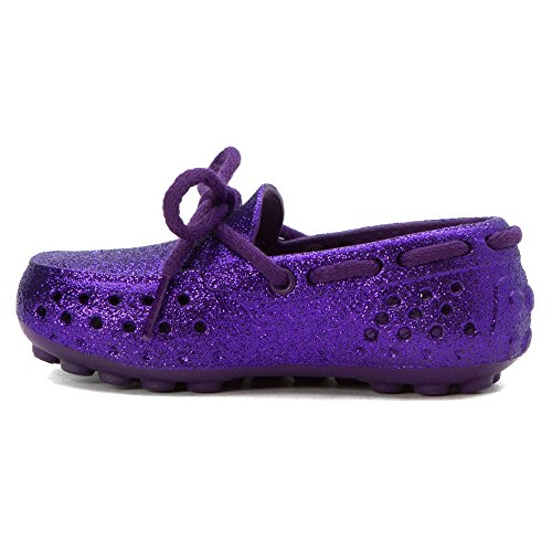 People Footwear The Senna Synthetik Slipper Crown Purple Sparkles