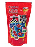 Taiyo is a balanced staple diet for all tropical fish. It is scientifically developed to meet the basic dietary needs for healthy growth and lustrous skin. It helps to reduce water pollution with digestible ingredients.