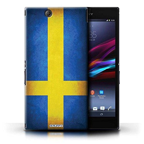 Kobalt® Imprimé Etui / Coque pour Sony Xperia Z Ultra / Suisse conception / Série Drapeau Suède/suèdois