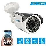 KKmoon 1080P HD POE IP-Kamera 2.0MP 3.6mm 1 / 2.8