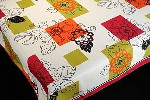 Manteles FLORES 2 estampados antimanchas Colores Primaverales Decoracion Hogar (200 x 150)