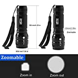 Lighting Dynasty CREE LED Torch, Super Bright, Adjustable Focus, DURACELL Batteries Included [Energy Class A] Bild 5