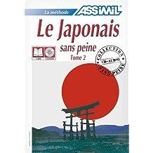 Le Japonais sans Peine - Tome 2 ; Livre + CD Audio (x4)