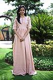 B-Lotus Designers Women Pink New Dress Bollywood Designer Long Anarkali Kurti Type Suit All Size