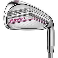 Cobra King F7Fers de golf pour femmes (manche en graphite) Womens Flex 6-SW (6Fers) RH pour droitier pour femme (Rose framboise) 2017Modèle