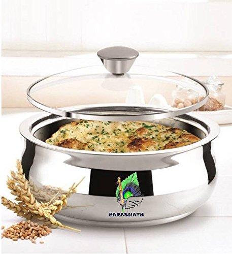 Parasnath Glass Lid Hot Meal Casserole 1500ml