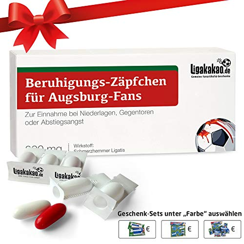 Alles für Augsburg-Fans by Ligakakao.de Geschenk männer ist jetzt BERUHIGUNGS-ZÄPFCHEN