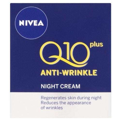 NIVEA Q10 Plus Anti-Wrinkle Night Cream 50 ml, 1 Stück