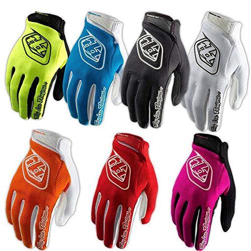 Gracorgzjs 1 Paar Outdoorsport-Handschuhe für Motorrad, Fahrrad, Anti-Rutsch, Full Finger XL Schwarz