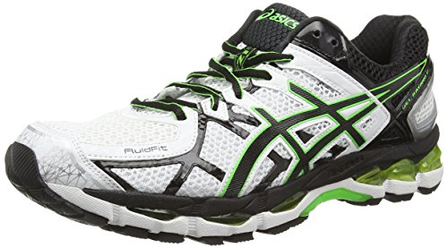 asics-gel-kayano-21-scarpe-sportive-uomo-bianco-white-black-flash-green-0190-415-7-uk