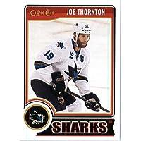 2014 -15 Upper Deck O Pee Chee Hockey Card # 42 Joe Thornton - San Jose Sharks