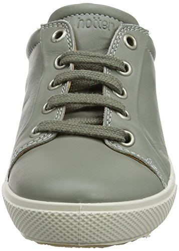 Hotter Brooke, Scarpe Stringate Derby Donna Grey (Duck Egg)