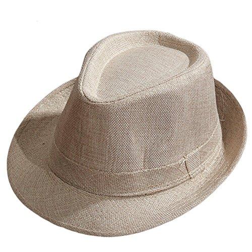 outflower Hut Jazz/Hut Panama/Strohhut Männer und Frauen können tragen