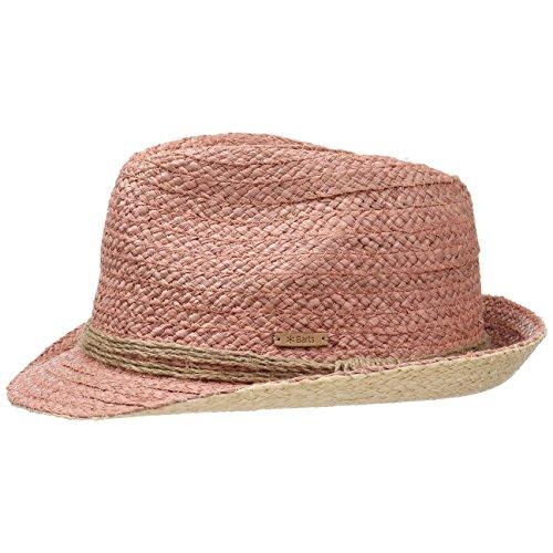 Chapeau de Paille Zaplin Trilby Barts chapeau de paille chapeau de soleil Rose
