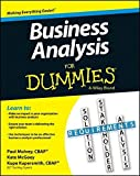 Business Analysis For Dummies by Kupe Kupersmith (2013-07-22)