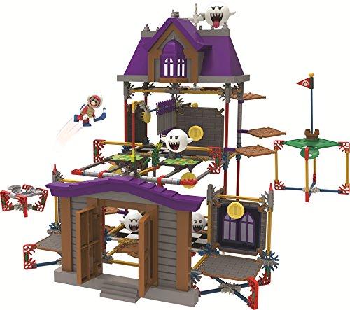 K'NEX - Set Casa degli spiriti di Super Mario, da costruire - Ghost House Flag