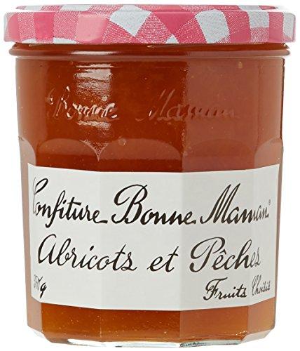 Bonne-Maman Confiture Abricot Pêche 370 g - Lot de 3