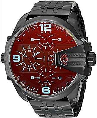 Diesel Reloj Analógico para Hombre de Cuarzo con Correa en Acero Inoxidable DZ7373