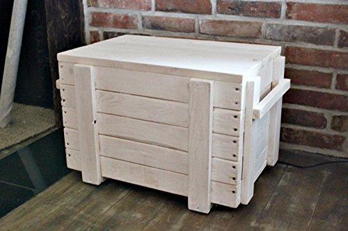 Asiento–Baúl de mesa Madera Caja Caja sofá mesa Salón cajón