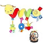 NUOLUX Niño cuna cuna cochecito colgante sonajeros espiral cochecito sillita juguetes con sonido de campana