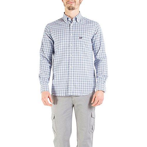 Carrera Jeans - Hemd 213B1220A für mann, Flanell Gewebe, regular fit, langarm Azzurro 062