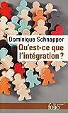 Qu'est-ce que l'intégration?