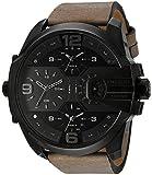 Diesel Herren-Uhren Analog Quarz One Size Leder 87620034