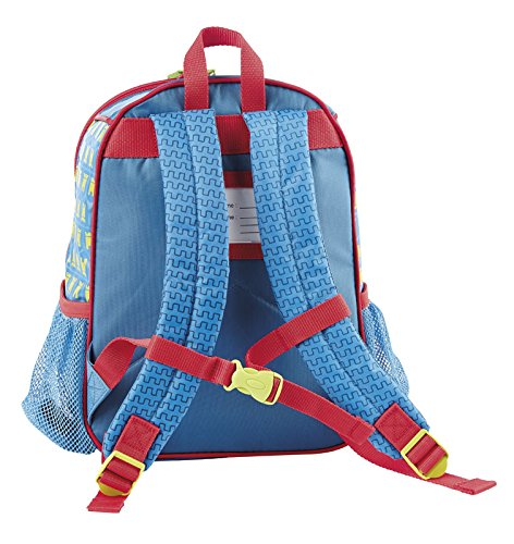 sigikid, Jungen, Kindergartentasche Ritter, Ritter Rettich, Blau/Rot, 24011 Rucksack groß / Ritter Rettich