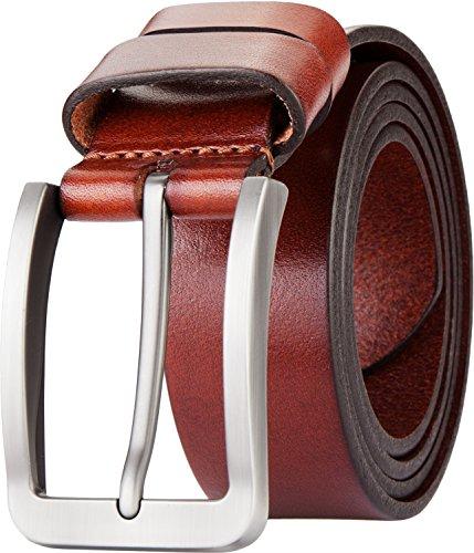 Blasea Full Grain Leather Casual Style Pin Buckle Jeans Belts for Men