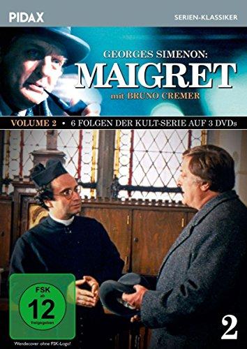 Bild von Maigret, Vol. 2 / Weitere 6 Folgen der Kult-Serie mit Bruno Cremer nach dem Romanen von Georges Simenon (Pidax Serien-Klassiker) [3 DVDs]