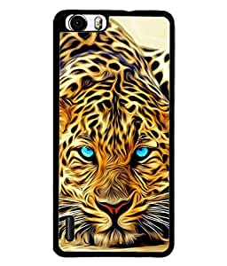 PrintVisa Designer Back Case Cover for Huawei Honor 6 (Painting looking appearance angry wild)