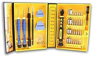 LB1High Performance New Professional Tools Set für Sony VAIO Fit 39,4cm Laptop 6GB Speicher 750GB Festplatte weiß SVF15214CXW Mehrzweck ″ Präzisions-Schraubendreher Repair Tools Kit