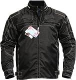 German-Wear Motorradjacke aus Textilien, Schwarz, 56