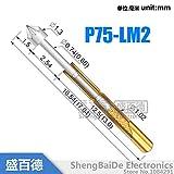 Generic 100pcs/lot P75-LM2 Dia 1.3mm Spr...