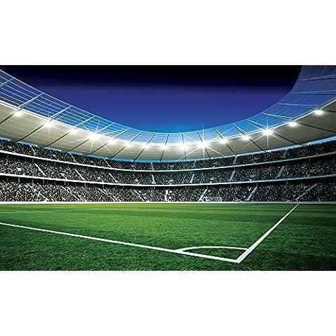 Papel Pintado Fotográfico Papel pintado fotográfico Papel pintado pared de Fútbol Estadio 324, papel, multicolor, 0.02  x  368  x  254