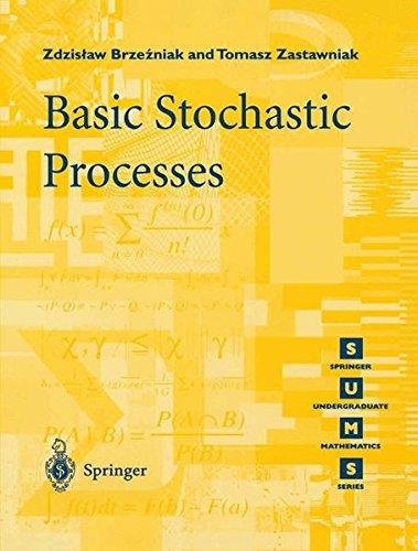 Basic Stochastic Processes: A Course Through Exercises (Springer Undergraduate Mathematics Series) por Tomasz Zastawniak