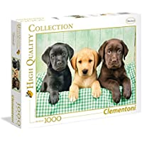 Clementoni 39279 - Puzzle 1000 Pezzi I Tre Labrador