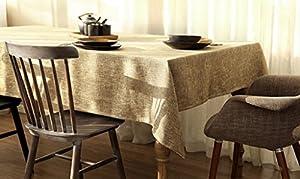 hotel carlos 1: hjhy® Lienzo de mesa, estilo europeo simple en color Unie ropa de lino en casa d...