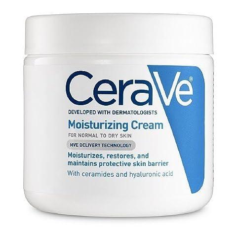 CeraVe Moisturizing Cream New Mega Size Package 64 Ounces, 4 jars 16 oz each by CeraVe