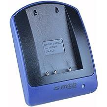 Caricabatteria USB (senza cavo/adattatori) per EN-EL5/Nikon Coolpix P3 P4 P80 P90 P530 P5000 P5100 P6000 S10. - v. lista
