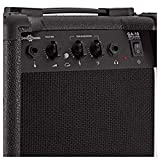 Pack Ampli Guitare LA par Gear4music Noir