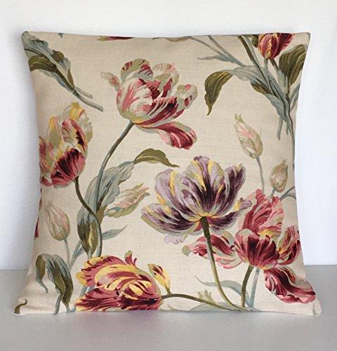 1-x-16-handmade-laura-ashley-gosford-cranberry-cushion-cover