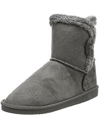 Canadians Damen Boots Kurzschaft Schlupfstiefel
