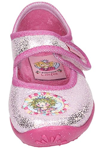 Prinzessin Lillifee Maedchen Hausschuhe rosa, 230245-42 Rose