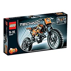 Idea Regalo - Lego Technic 42007 - Moto da Cross