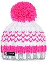 Wollig Wurm Winter Lolly Style Beanie Mütze mit Ponpon Damen Herren HAT HATS Fashion SKI Snowboard Morefazltd (TM)