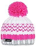 Wintermütze Mädchen Mütze Beanie Kinder Jungen Jugendliche Wurm Cookies HATSKI Hut mit Fleece gefüttert (Lolly 93) MFAZ Morefaz Ltd