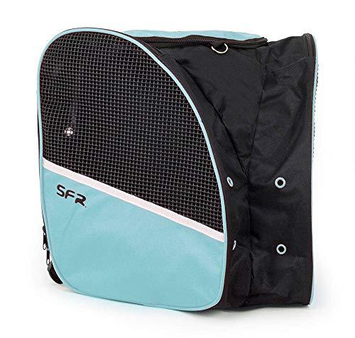 SFR Skate Backpack für Rollschuhe und Schlittschuhe schwarz-Mint schwarz-Mint, Standard