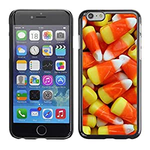 Omega Covers - Snap on Hard Back Case Cover Shell FOR Apple Iphone 6 Plus / 6S Plus ( 5.5 ) - Sweets Yellow Orange Gummy Food